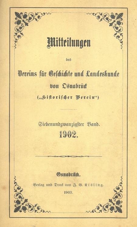 Mitteilungen 1902