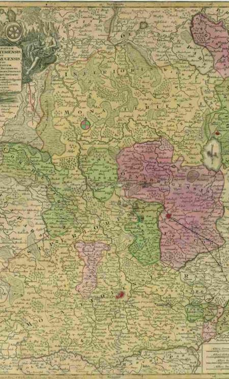 Karte Bistümer klein